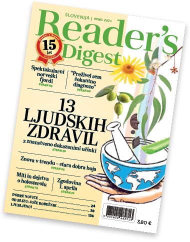 Reader's Digest, april 2021