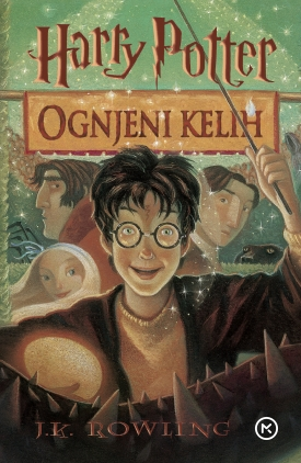 Ognjeni kelih, Harry Potter